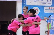 Serie A femminile, playoff: Salinis e Montesilvano in semi. Kick Off a gara-3!