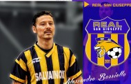 Real San Giuseppe, trovato l'accordo con Borriello anche per la prossima stagione
