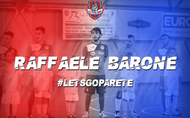 Futsal Parete, Barone torna dal prestito al Boca: accoglienza con rinnovo
