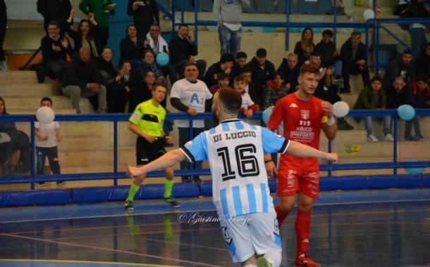 """Futsal Fuorigrotta, il commiato di Di Luccio: """"Ho vissuto sei mesi stupendi"""""""