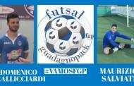 Futsal Guadagno Pack, trovato l'accordo con Frallicciardi e Salviati: doppio rinnovo