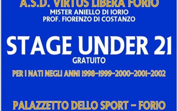 Virtus Libera Forio, stage per l'U21 il 12 ed il 19 giugno