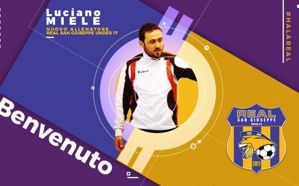 Real San Giuseppe, Miele il nuovo coach dell'U17