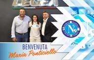 """Woman Napoli, Maria Ponticiello primo rinforzo: """"Avventura stimolante"""". Sarà il capitano, Legea confermato sponsor tecnico"""