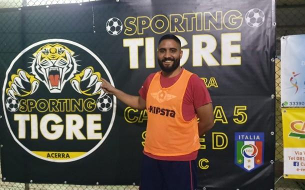 Un altro centrale per lo Sporting Tigre Acerra: ecco Coletta