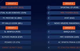 Champions League, Elite Round da brividi: Italservice ad Almaty con Benfica, ElPozo e Kairat!