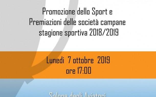 Prima tappa lunedì: le società di Napoli e provincia premiate dalla Lnd Campania