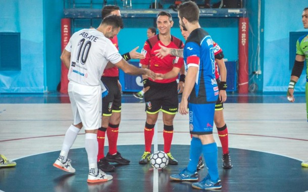 Jonas ferma nel finale la Sandro Abate al PalaCercola, 6-5 per l'A&S: non basta Dian Luka, ma tanti applausi