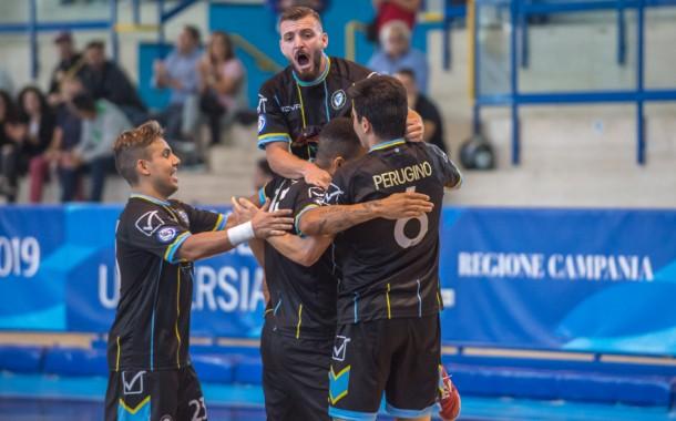Futsal Fuorigrotta straripante, seconda vittoria consecutiva in campionato: 7-0 alla Roma