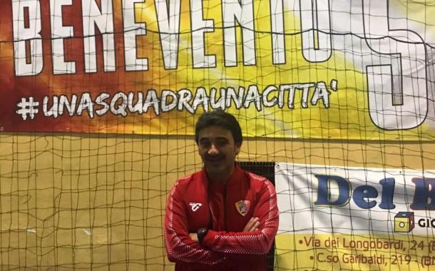 """Benevento 5 pronto a ripartire, in casa del San Marzano la prima di Di Costanzo: """"Servirà tempo, stringiamo i denti"""""""