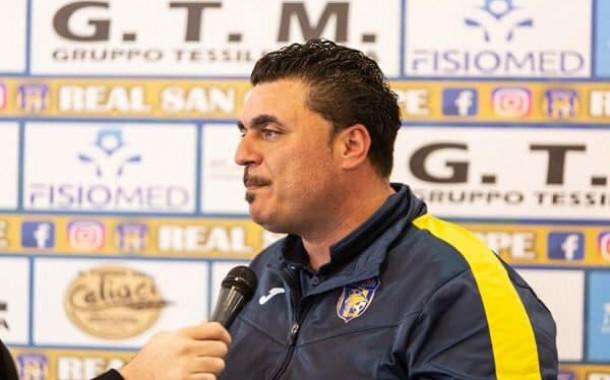 """Real San Giuseppe, impegno di coppa a Terzigno con la Sipremix Limatola. Mister Rizzo: """"Lavoriamo per migliorare di giorno in giorno"""""""