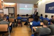 Futsal Academy, il via quest'oggi al C.P.O Giulio Onesti, grande entusiasmo dei partecipanti