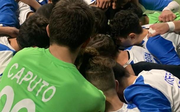 Napoli Calcetto U17, sette reti allo Junior Domitia e secondo posto in classifica