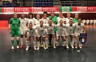Italfutsal femminile ko in Portogallo nella prima gara: vincono 4-0 le lusitane