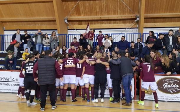 La Salernitana rimonta il Sarno nel derby, Lisanti decisiva
