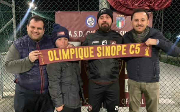 Ecco anche l'ufficialità dell'Olympique Sinope, Nenè da Spinosa