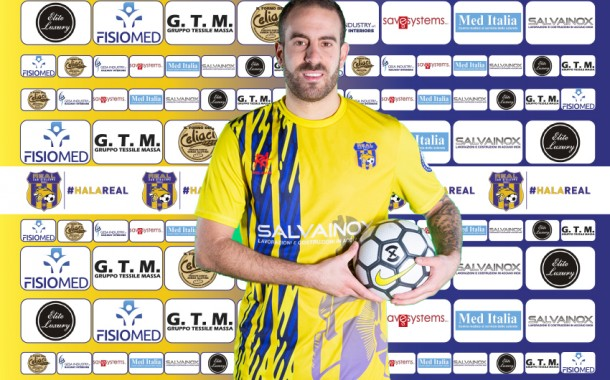 """Real San Giuseppe stellare: ufficializzato anche Lolo Suazo. Masi: """"Giocatore straordinario"""". Salviati: """"Rosa di tutto rispetto"""""""