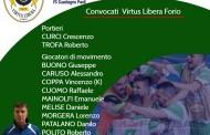 Virtus Libera, big match in casa del Guadagno Pack: out Beneduce e Iacono