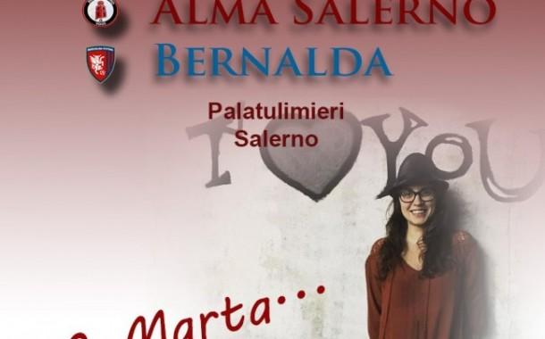 L'Alma scende in campo per Marta
