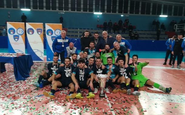 Poker Miele, il Futsal Guadagno Pack porta a casa la coppa Campania C2