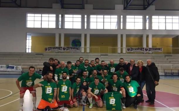 Lo Sporting Sala Consilina festeggia al PalaNewSystem, è serie B!