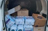 L'iniziativa della Cisterna Football School: beni alimentari per le famiglie bisognose