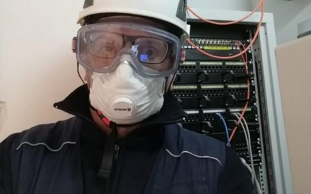 """Audio. Costantino Petillo, vice allenatore Spartak femminile, è termoidraulico. """"Consegneremo a breve altri reparti di terapia intensiva a Caserta"""""""