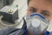 """Luigi Acanfora, calcettista della Trilem e corriere: """"Trasportiamo beni di prima necessità e materiali urgenti"""""""