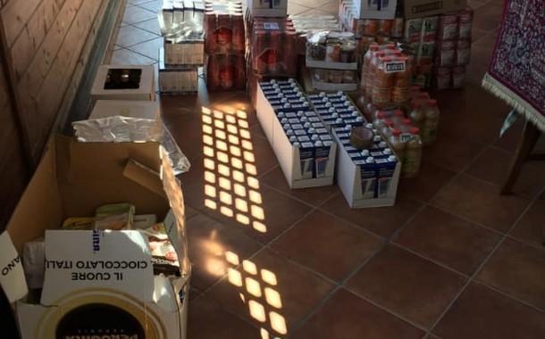 Il contributo della Vamos Gragnano, beni alimentari alle famiglie bisognose