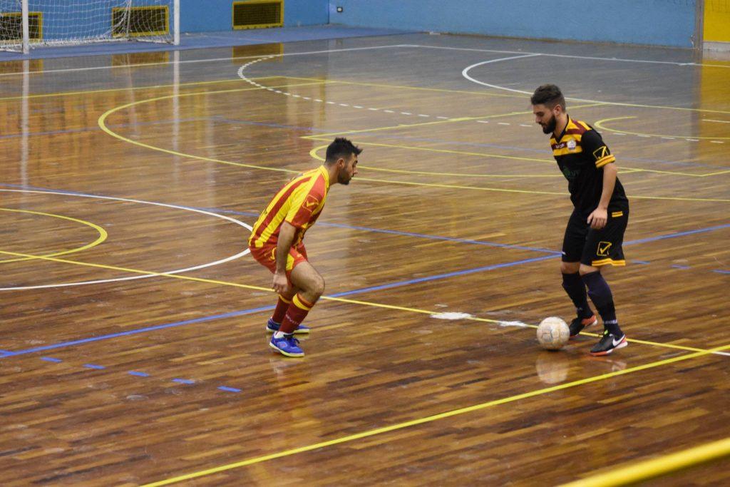 un'istantanea di Sanniti-Libertas Cerreto (fonte fonto: profilo Facebook Sanniti Five Soccer)