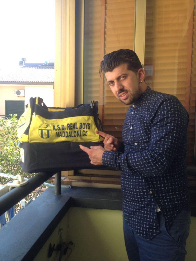 Giuseppe Orefice, diesse del Real Boys Maddaloni