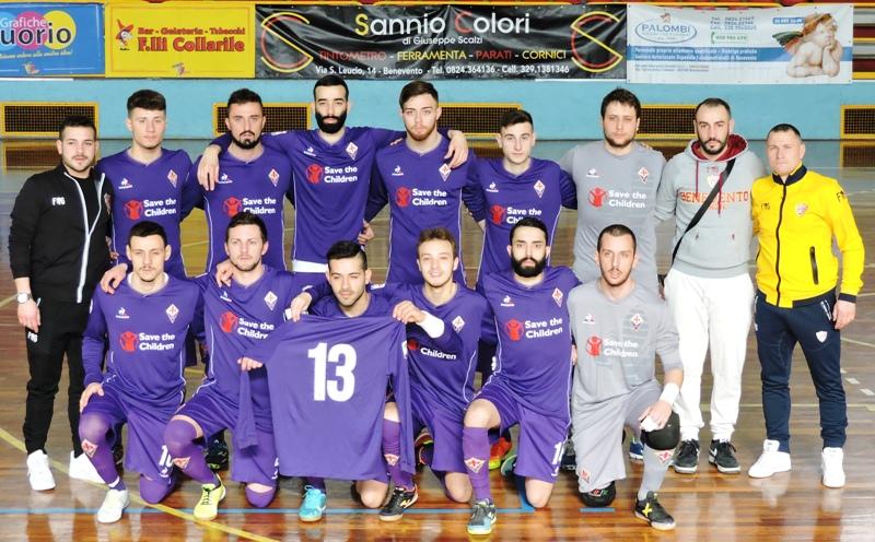 Benevento 5 maglia Fiorentina