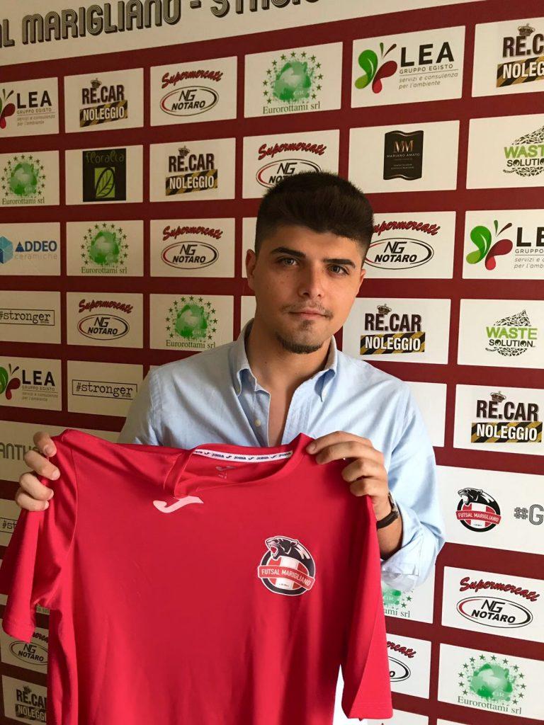 Vincenzo Pane, nuovo addetto stampa del Futsal Marigliano