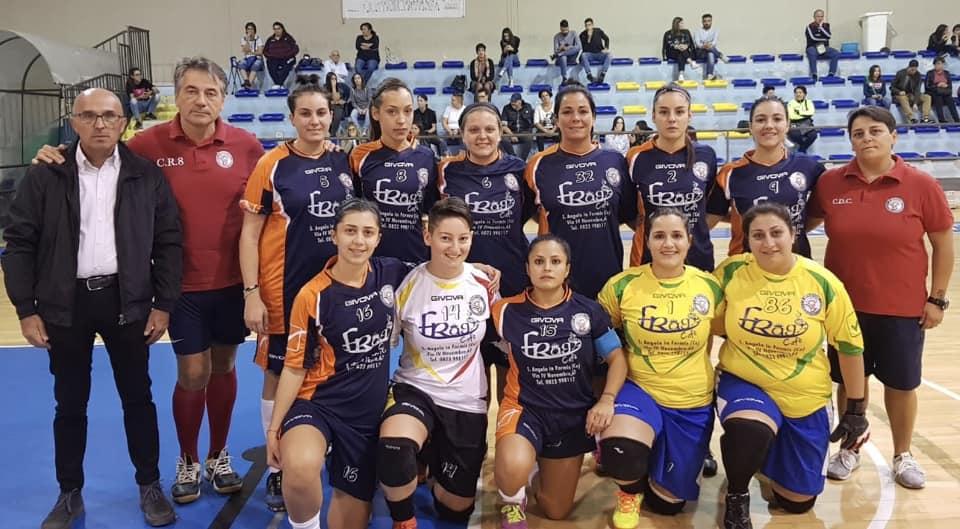 Le ragazze dello Spartak C5