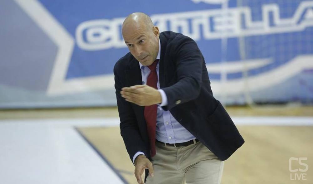 Tino Perez, tecnico dell'A&S Futsal Foto: C5 Live