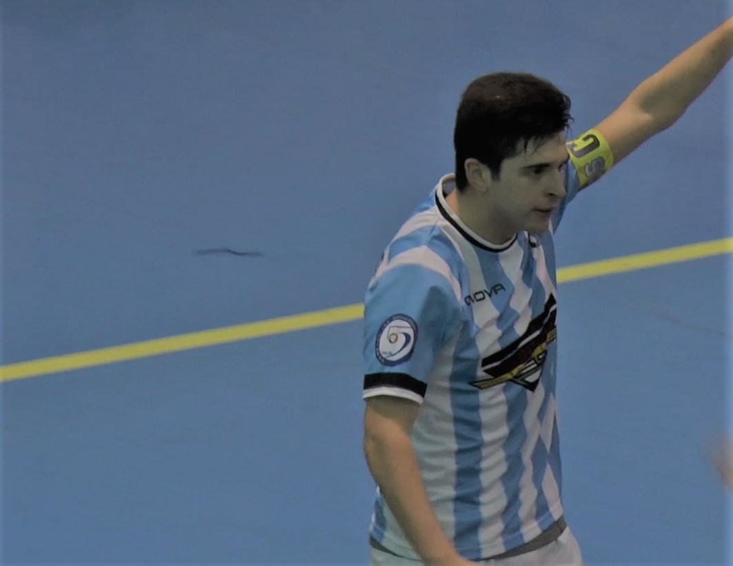 Nando Perugino, capitano del Futsal Fuorigrotta