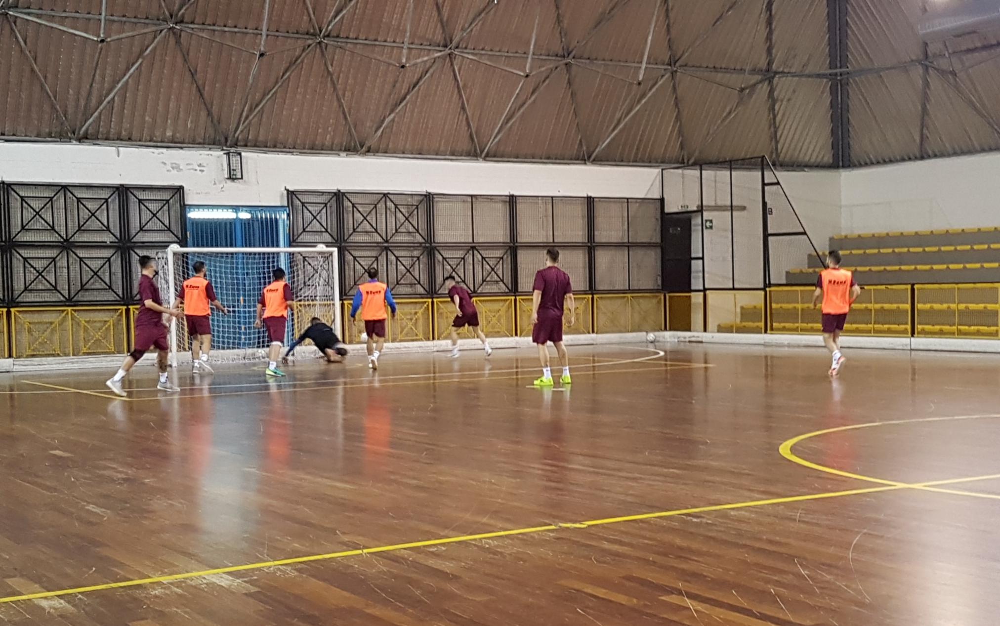 Alma Salerno rifinitura Futsal Fuorigrotta