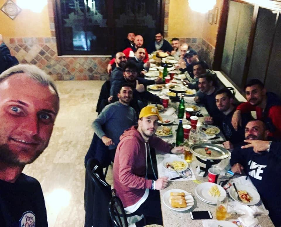 Il Casilinum festeggia a tavola