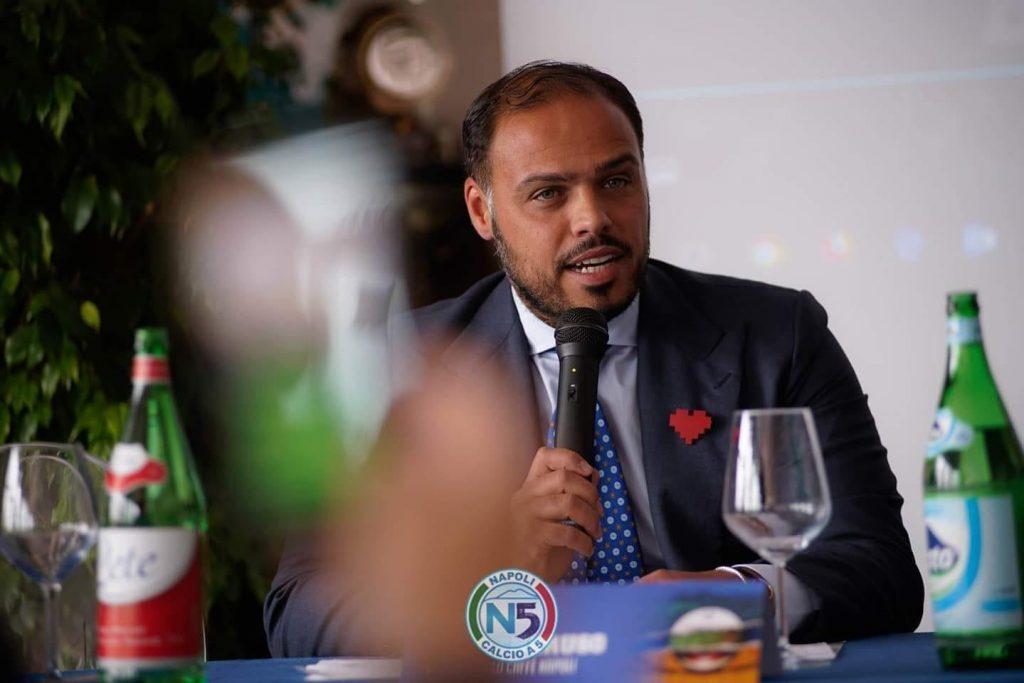 Ciro Veneruso, presidente del Lollo Caffè Napoli