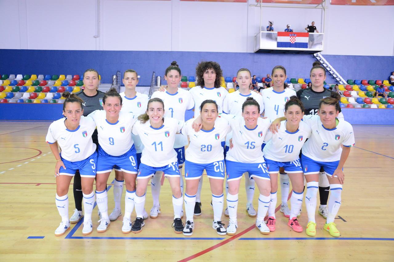 La Nazionale femminile