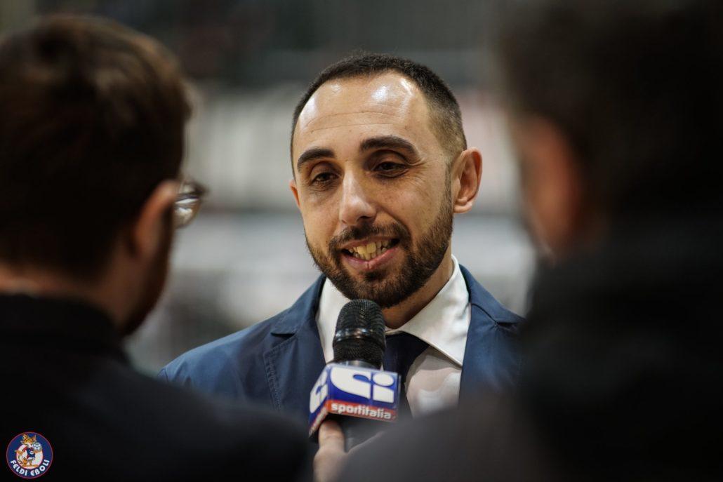 Francesco Cipolla, tecnico della Feldi Eboli