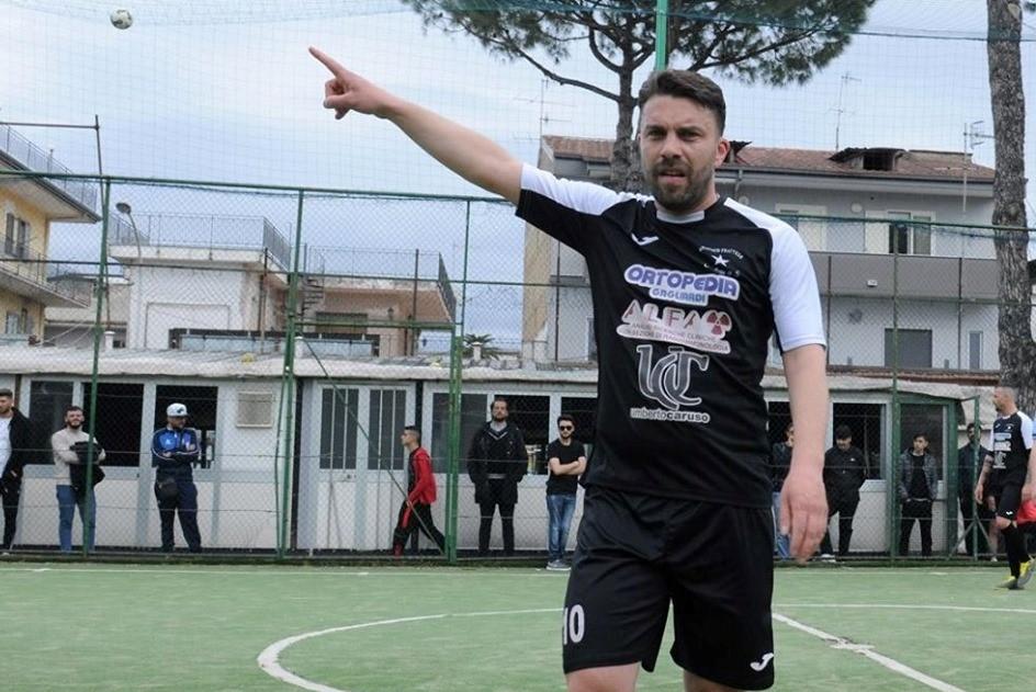 Orlando D'Argenzio, nuovo capitano dell'Atletico Frattese