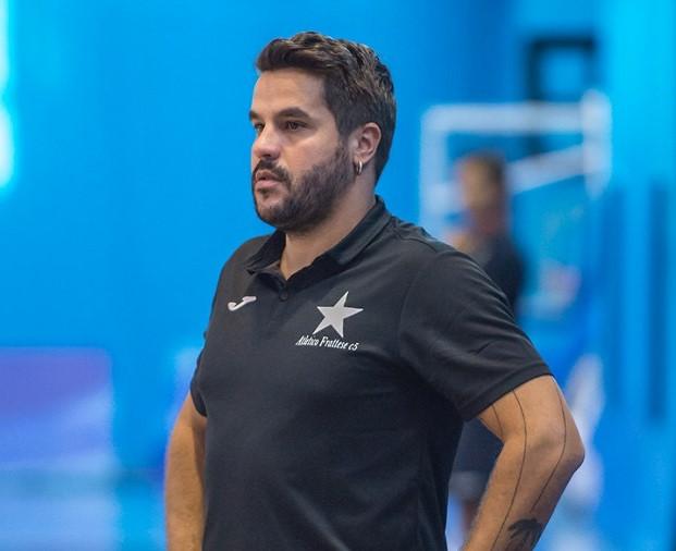 Angelo Cesaro, team manager dell'Atletico Frattese, in uno scatto di Alessandro Vitiello
