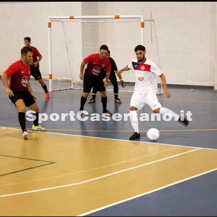 Claudio Sabino in azione Foto: sportcasertano.it
