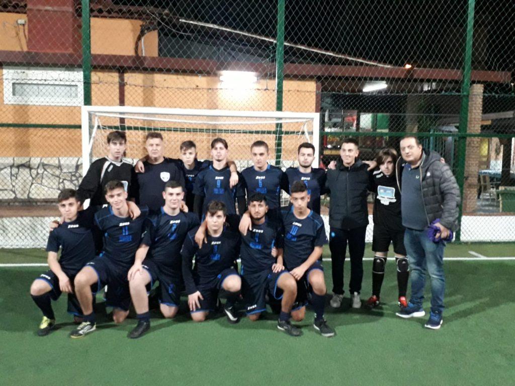 I ragazzi del Pozzuoli Futsal Flegrea U17 élite