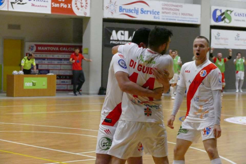 Foto: pagina Facebook Mantova Calcio a 5