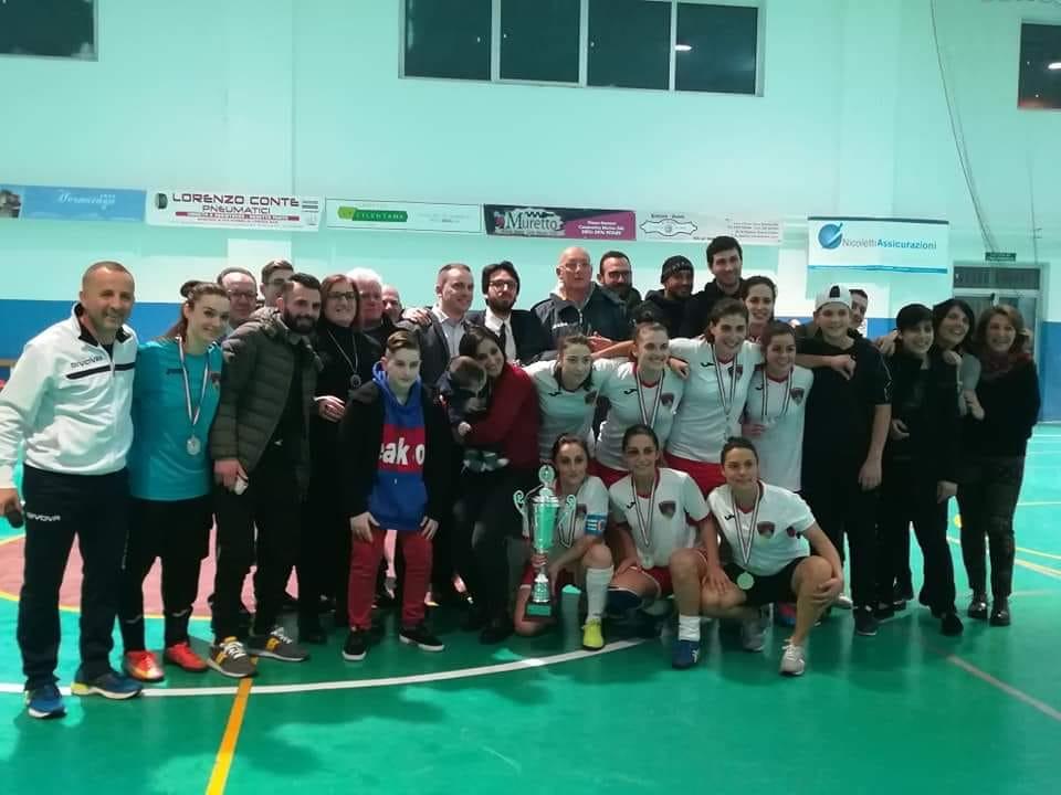 Il trionfo in Coppa Italia C1 della Fénix S. Maria nella passata stagione