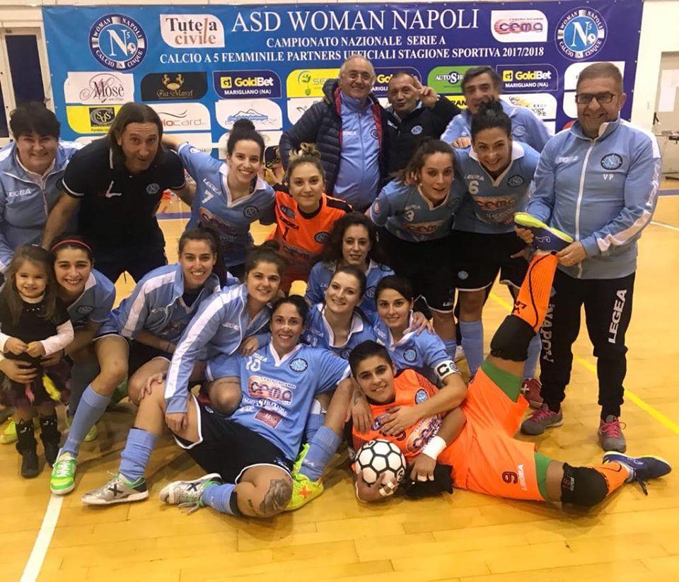 La gioia della Woman Napoli