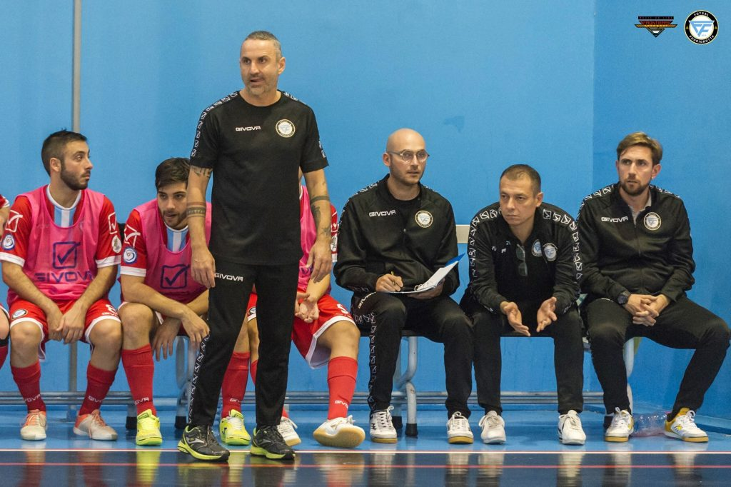 Fabio Oliva, allenatore Futsal Fuorigrotta