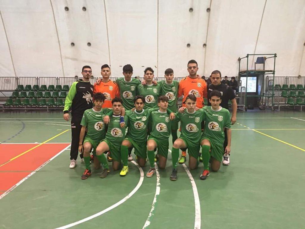 I ragazzi del Cus Avellino U17 élite